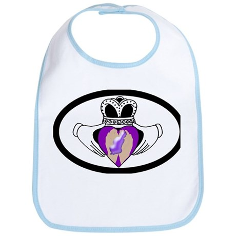 Premature Birth Awareness Bib