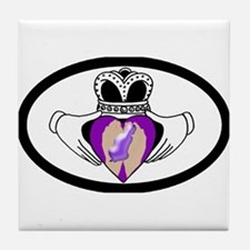 Premature Birth Awareness Tile Coaster