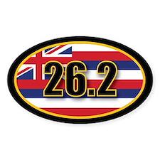 Hawaii State Full Marathon 26.2 Decal
