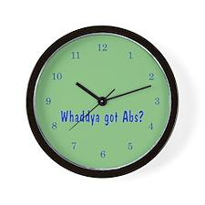 NCIS: Whaddya Got Abs? Wall Clock