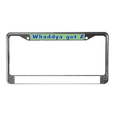 NCIS: Whaddya Got Abs? License Plate Frame