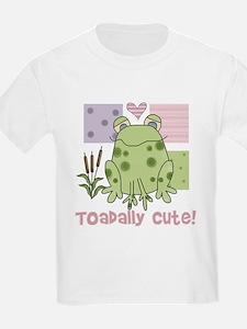 Toadally Cute Kids T-Shirt