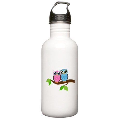 Two Owls Stainless Water Bottle 1.0L