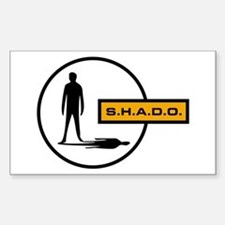S.H.A.D.O. Rectangle Decal