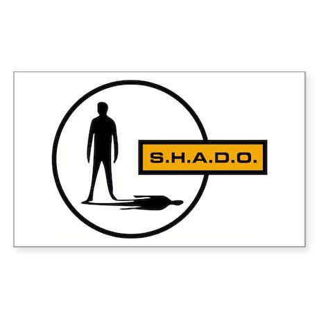 S.H.A.D.O. Rectangle Sticker