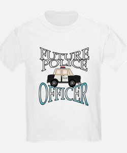Future Police Officer Kids T-Shirt