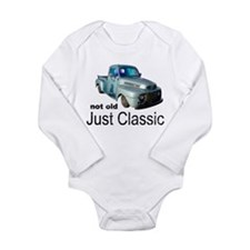 Not Old Just Classic Long Sleeve Infant Bodysuit
