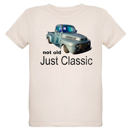 Not Old Just Classic Organic Kids T-Shirt