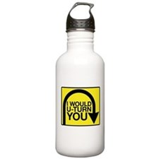 Amazing Race U-Turn Sports Water Bottle
