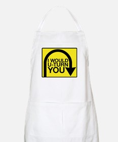 Amazing Race U-Turn Apron