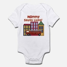 Firefighter Mommy Saves Lives Infant Creeper