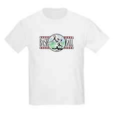 Vintage Baseball Logo Kids T-Shirt