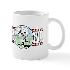 Vintage Baseball Logo Ceramic Coffee Mug
