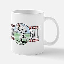 Vintage Baseball Logo Ceramic Mug