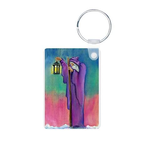 Tarot Hermit & Fool Aluminum Photo Keychain