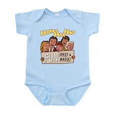 Hardy Har Hut Infant Bodysuit