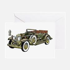 Vintage Classic Car Greeting Card