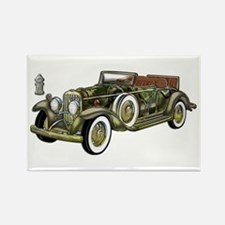 Vintage Classic Car Rectangle Magnet