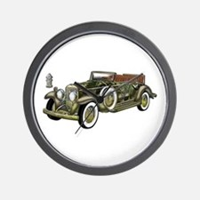 Vintage Classic Car Wall Clock