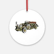 Vintage Classic Car Ornament (Round)