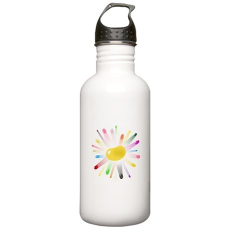 yellow jellybean blowout Stainless Water Bottle 1.