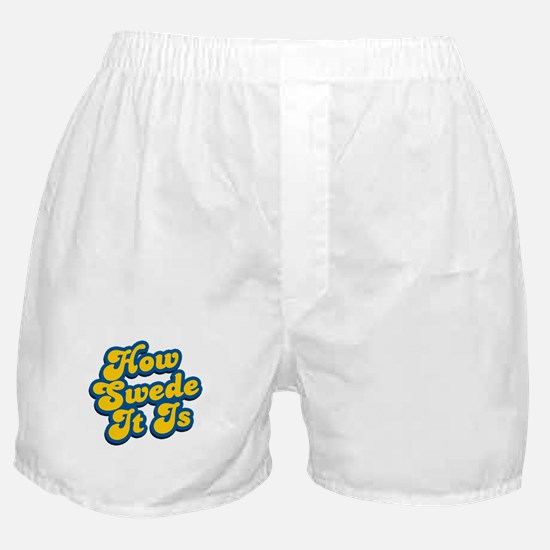 How Swede It Is Boxer Shorts