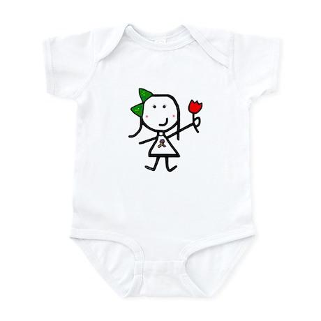 Girl & Autism Infant Bodysuit