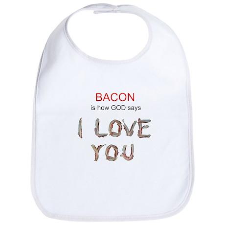 God's Bacon Love Bib