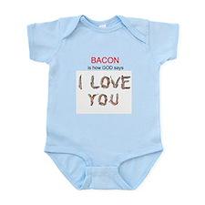God's Bacon Love Infant Bodysuit