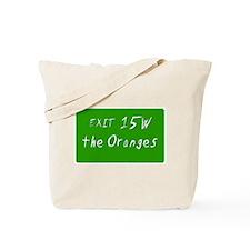 Exit 15W, Oranges, NJ Tote Bag
