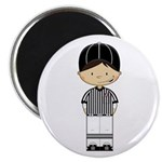 "American Football Referee 2.25"" Magnet (100 P"