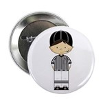 "American Football Referee 2.25"" Button (10 Pk"