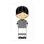 American Football Referee Sticker (50 Pk)