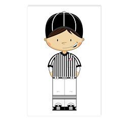 American Football Referee Postcards (Pkof 8)
