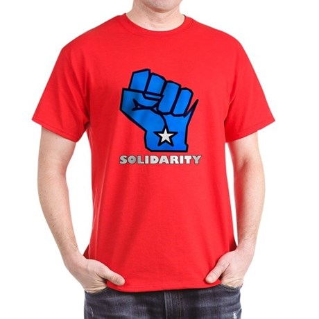 Solidarity Fist Dark T-Shirt