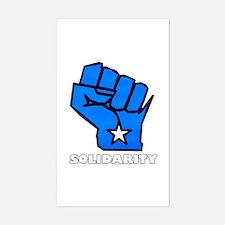 Solidarity Fist Sticker (Rectangle)