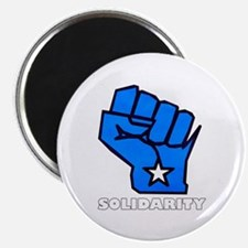 "Solidarity Fist 2.25"" Magnet (10 pack)"