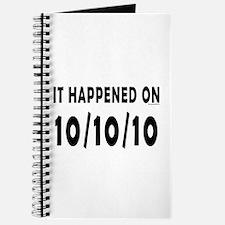 10/10/10 Journal