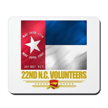 22nd NC Volunteers Mousepad