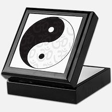Ying Yang Yoga Keepsake Box