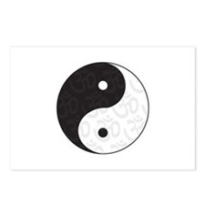 Ying Yang Yoga Postcards (Package of 8)