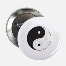"Ying Yang Yoga 2.25"" Button (100 pack)"