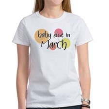 Baby Due In March Tee