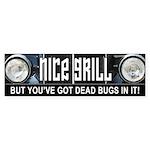 Nice Grill Bumper Sticker