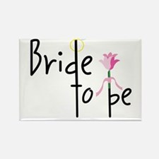 Bride To Be Rectangle Magnet