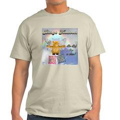 Bingo Heaven kitty Ash Grey T-Shirt