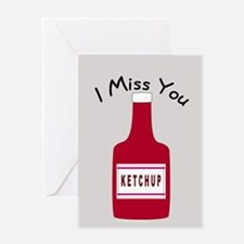 Cute I Miss You Greeting Card
