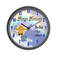Bingo Heaven kitty Wall Clock
