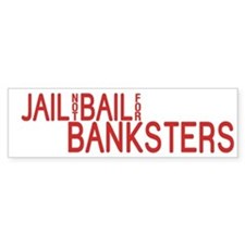 Jail the Banksters Car Sticker