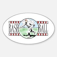 Vintage Baseball Logo Vinyl Decal